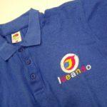 T-shirt ricamata personalizzata